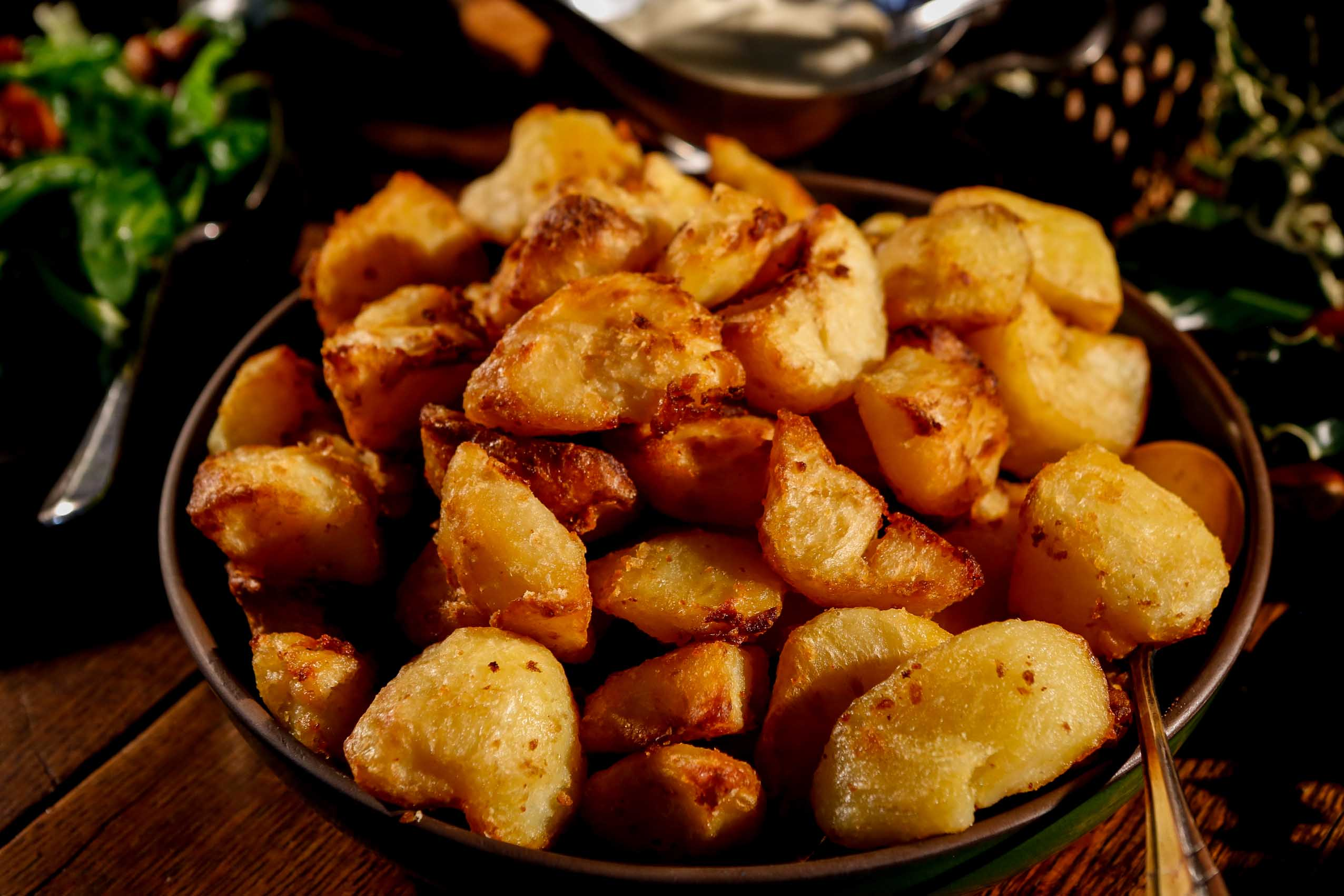perfect roast potatoes - bread & honey