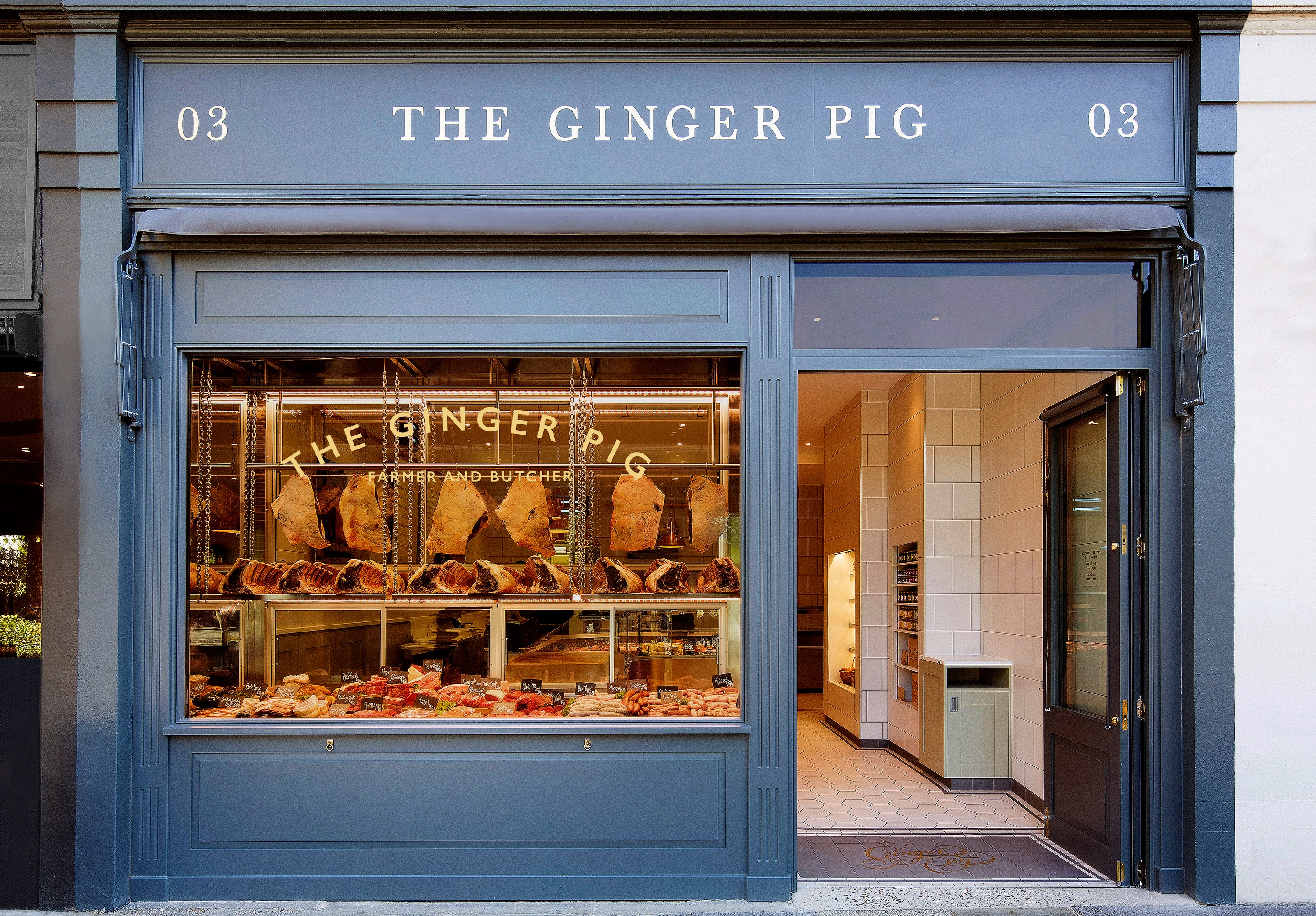 The Ginger Pig - bread & honey
